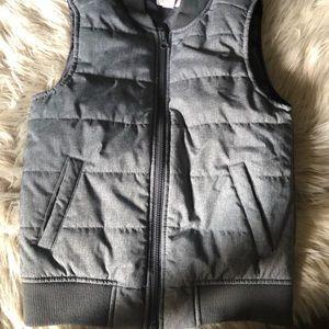 Boys Cat & Jack grey puffer vest